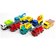 Недорогие -Игрушечные машинки внедорожник Игрушки Автомобиль Транспорт Мягкие пластиковые 8 Куски