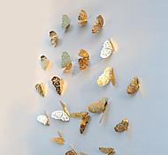 Недорогие -Животные Наклейки 3D наклейки Декоративные наклейки на стены, Бумага Украшение дома Наклейка на стену Стена Холодильник