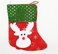 4 шт / комплект блестки рождественский чулок рождественский орнамент