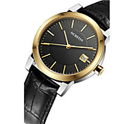 Women's Wrist watch Fashion Watch Quartz Calendar / date / day Noctilucent Leather Band Casual