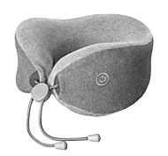 Недорогие -xiaomi многофункциональный u-образный массаж шеи подушка - серый