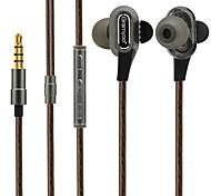x68 в наушниках с динамическими пластиковыми наушниками&шумоизоляция наушников для наушников с микрофонной гарнитурой