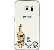 preiswerte -Hülle Für Samsung Galaxy S8 Plus S8 Muster Rückseite Frucht Cartoon Design Weich TPU für S8 Plus S8 S7 edge S7 S6 edge plus S6 edge S6