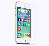 Недорогие -Защитная плёнка для экрана Apple для iPhone SE/5s iPhone 5c iPhone 5 Закаленное стекло 1 ед. Защитная пленка для экрана 2.5D закругленные
