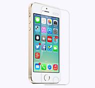 abordables -Protector de pantalla Apple para iPhone SE/5s iPhone 5c iPhone 5 Vidrio Templado 1 pieza Protector de Pantalla Frontal Borde Curvado 2.5D