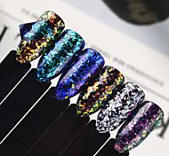 economico -1 pcs Gioielli per unghie / Con lustrini / Polvere di glitter Art déco / Retrò / Classico / Laser Holografico Quotidiano