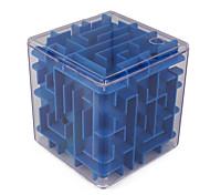 Недорогие -Кубики-головоломки Мячи Обучающая игрушка Лабиринты и логические головоломки Лабиринт Игрушки Игрушки Квадратный 3D Куски Не указано
