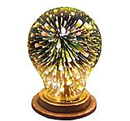preiswerte -1pc 4W 350lm E26 / E27 LED Kugelbirnen A60(A19) 28 LED-Perlen Integriertes LED 3D Feuerwerk sternenklar Dekorativ Mehrere Farben 85-265V