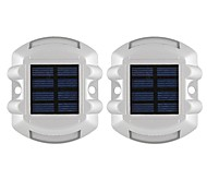 cheap -2pcs 1W LED Floodlight Infrared Sensor Decorative Outdoor Lighting Blue <5V