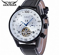 Men's Casual Watch Fashion Watch Dress Watch Wrist watch Automatic self-winding Calendar Leather Band Casual Cool