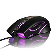 abordables -ajazz aj310 firstblood 3500 dpi 6 botones led óptica usb con cable mouse para juegos avagoa3050