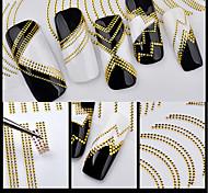 Недорогие -1 Аппликации 3D-стикеры для ногтей Наклейка для фольги Инструменты сделай-сам Стикер Мода Повседневные Высокое качество