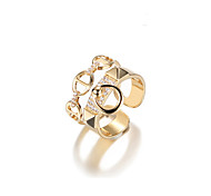 cheap -Women's Cuff Ring Metallic Korean Alloy Geometric Jewelry For Other Gift