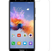 Protetor de Tela para Huawei Honor 7X Vidro Temperado 1 Pça. Protetor de Tela Frontal Alta Definição (HD) Dureza 9H Borda Arredondada