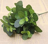 Недорогие -30см 2 шт. 5 голов / ветвь сетчатый лист домашнее украшение искусственная трава