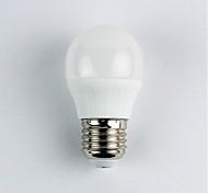 cheap -1pc 4W E27 LED Globe Bulbs G45 6 leds SMD 3528 Warm White 310lm 3000K AC 110-240V