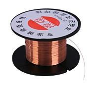 Недорогие -0.1mm link wire медная паяльная проволока обслуживание линия перехода для мобильного телефона компьютер pcb инструмент для ремонта пайки