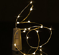 cheap -BRELONG® String Lights 5 LEDs Warm White White Purple Green Blue Waterproof <5V