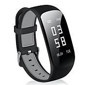 baratos -Pulseira inteligente Monitor de Batimento Cardíaco Perda Prevent Pedômetros Aviso de Chamada Sensor de Frequência Cardíaca Lembrete de