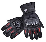 cheap -PRO-BIKER Sporty Full Finger Unisex Motorcycle Gloves Cycling Keep Warm Anti-Slip Rain-Proof Wearable