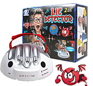Lie Detector Adult Polygraph Test Board Game Consoles Toy Toys Micro Electric Shock Toys ABS Plastic 1 Pieces Adults' Birthday Gift