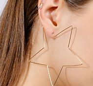 cheap -Women's Drop Earrings Simple Fashion European Alloy Star Jewelry For Bar