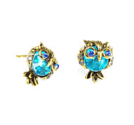 cheap -Women's Stud Earrings Rhinestone Vintage Cute Fashion Alloy Owl Jewelry For Birthday Gift Ceremony Evening Party