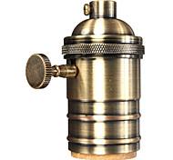 Недорогие -1pc e26 / e27 промышленная лампочка с металлическим корпусом с ручкой вкл / выкл винтажный подвесной светильник diy
