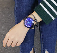 Недорогие -Муж. Жен. Повседневные часы Наручные часы электронные часы Китайский Цифровой Повседневные часы Крупный циферблат PU Группа Cool Черный