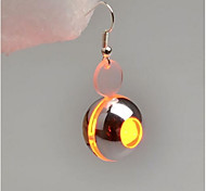 Women's Drop Earrings , Fashion Illuminated Luminous Plastic Circle Jewelry Masquerade Bar