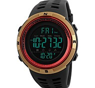 cheap -Men's Kid's Casual Watch Sport Watch Fashion Watch Chinese Digital Calendar / date / day Water Resistant / Water Proof Dual Time Zones