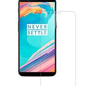 Недорогие -Защитная плёнка для экрана OnePlus для OnePlus 5T Закаленное стекло 1 ед. Защитная пленка Защита от царапин 2.5D закругленные углы