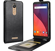 cheap -Case For Wiko Card Holder Flip Full Body Cases Solid Color Hard PU Leather for Wiko View XL Wiko View prime Wiko View Wiko Tommy 2 Wiko