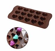 Недорогие -Формы для пирожных Сердце конфеты Для Cookie Для торта Печенье Торты силикагель Своими руками День Святого Валентина Новый год Свадьба