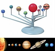 Недорогие -солнечная система девять планет планетарий модель комплект наука астрономия проект раннее образование для детей