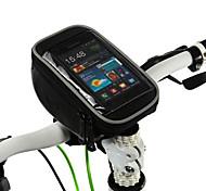 Недорогие -ROSWHEEL Сотовый телефон сумка Бардачок на руль 5 дюймовый Многофункциональный Сенсорный экран Велоспорт для Samsung Galaxy S6 LG G3