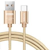 abordables -beileshi usb 2.0 cable de conexión usb 2.0 a usb 2.0 tipo c cable de conexión macho - macho 2.0 m (6.5 pies)