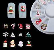 cheap -Ornaments / Nail Jewelry / DIY Tools Artistic Style / Snowflake / Fashion Daily Nail Art Design