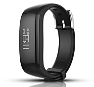 cheap -Smart Bracelet Calories Burned Pedometers Touch Sensor Call Reminder Pedometer Activity Tracker Timer Call Reminder Calendar Bluetooth4.0