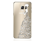 cheap -Case For Samsung Galaxy S8 Plus S8 Pattern Back Cover Sexy Lady Soft TPU for S8 Plus S8 S7 edge S7 S6 edge plus S6 edge S6