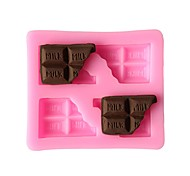 cheap -Cake Molds Rectangular Ice Cream Cookie Cake Chocolate Ice Silica Gel Eco-friendly Heatproof Creative Baking Tool New Arrival