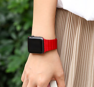 cheap -Watch Band for Apple Watch Series 3 / 2 / 1 Apple Wrist Strap Leather Loop