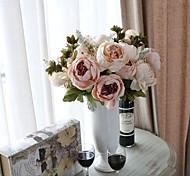 Недорогие -1 Филиал Другое Пионы Букеты на стол Искусственные Цветы