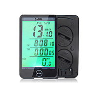 Sunding SD - 576A Odometer Speedometer Bicycle Computer Touch Screen Backlight Black