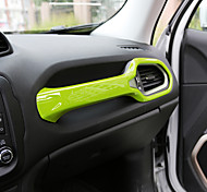 cheap -Automotive Front Armrest Protective Cover DIY Car Interiors For Jeep Renegade Plastic