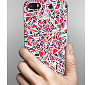 cheap -Case For Apple iPhone X iPhone 8 iPhone 8 Plus iPhone 5 Case Pattern Back Cover Geometric Pattern Hard PC for iPhone X iPhone 8 Plus