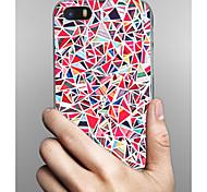 preiswerte -Hülle Für Apple iPhone X iPhone 8 iPhone 8 Plus iPhone 5 Hülle Muster Rückseite Geometrische Muster Hart PC für iPhone X iPhone 8 Plus