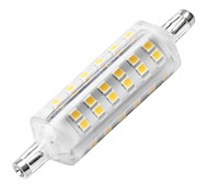cheap -YWXLIGHT® 1pc 6W 500-600lm R7S LED Corn Lights 72 LED Beads SMD 2835 Decorative LED Light Warm White 220-240V