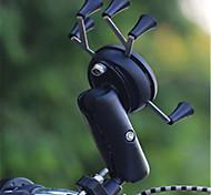 Недорогие -Велоспорт Мобильный телефон держатель стенд Регулируемая подставка Мобильный телефон Тип пряжки пластик Держатель