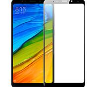 Недорогие -Защитная плёнка для экрана XIAOMI для Xiaomi Redmi 5 Plus Закаленное стекло 1 ед. Защитная пленка на всё устройство Защита от царапин
